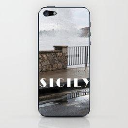 Power of Sea - Giardini Naxos - Sicily iPhone Skin