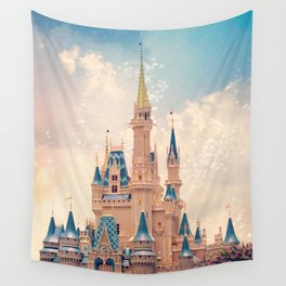 Cinderella's Castle Wall Tapestry