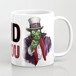 Uncle Ziltoid Wants You! Coffee Mug