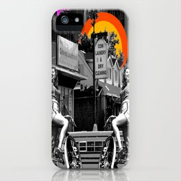 Look Mom, No Gentrification! iPhone Case