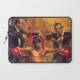 Brad Pitt in Snatch by guy ritchie Laptop Sleeve