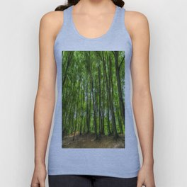 The Ancient English Forest Unisex Tank Top