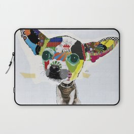 Chihuahua Colorful Dog POP Art Collage Laptop Sleeve