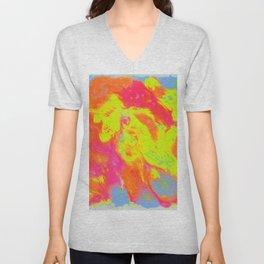 Happy colours Unisex V-Neck