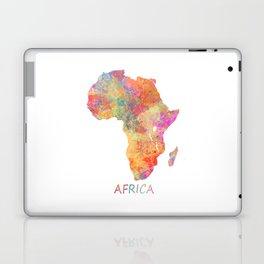 Africa map 2 Laptop & iPad Skin