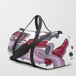 limited palette dragon Duffle Bag