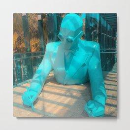 Le Corbusier by Xavier Veilhan Metal Print