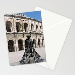 Today at the Roman Ampitheatre Nimes Provence France Stationery Cards