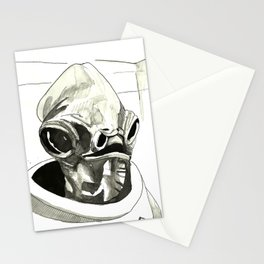 Inktober - It's a Trap! Stationery Cards