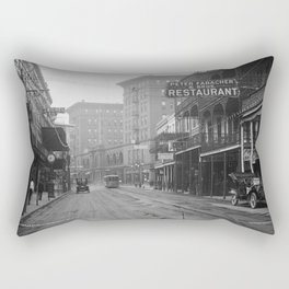 St. Charles Street from Canal, New Orleans, LA Rectangular Pillow