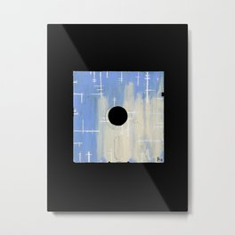 Floppy 17 Metal Print