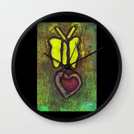 Free Your Soul Wall Clock