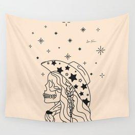 Love or Die Tryin' - Rhinestone Cowgirl Black & Cream Wall Tapestry