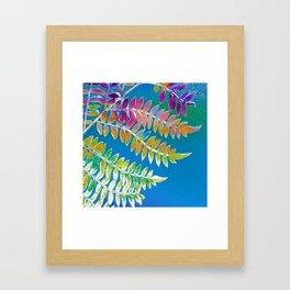 Azure Daydream Framed Art Print