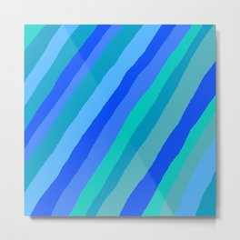 I've got the blues for you Metal Print
