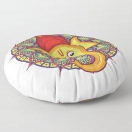 Ganesh Chaturthi for Kids Floor Pillow