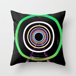 Ring of Light Throw Pillow