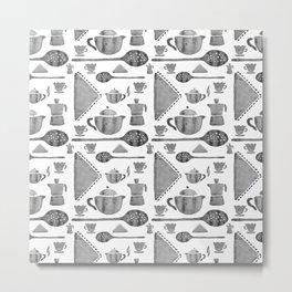 VINTAGE KITCHEN UTENSILS Metal Print