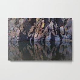 Color Reflected Metal Print