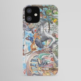Hayao Miyazaki Tribute iPhone Case