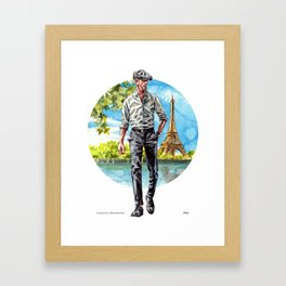 The Parisian Man Framed Art Print