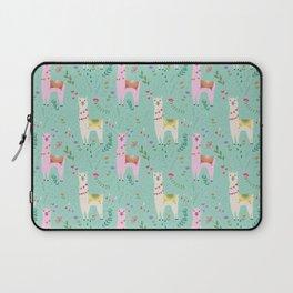 Llama Pattern Laptop Sleeve
