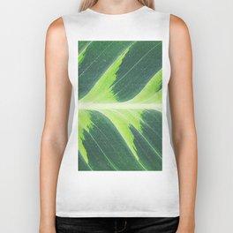 Leaf green Biker Tank