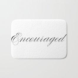 Encouraged Bath Mat