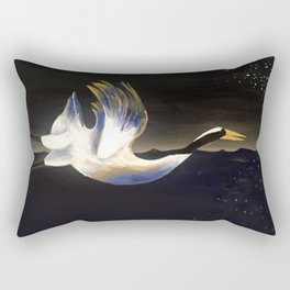 """""""MIGRATE WEST"""" Rectangular Pillow"""