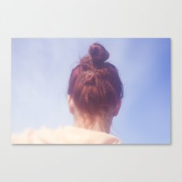 Girl With Red Hair Canvas Print