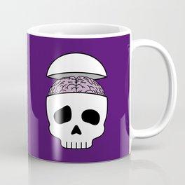 Brainy Skull Coffee Mug