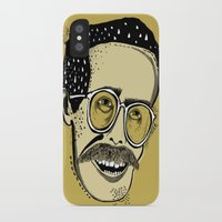bill iPhone & iPod Cases featuring Bill by Sarah Mould