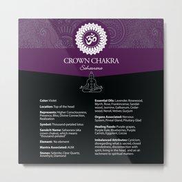 Crown Chakra Poster #48 Metal Print