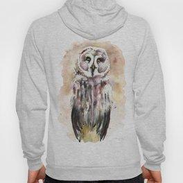 Gary The Great Gray Owl Hoody