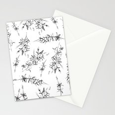 Fields of Black Lavender Stationery Cards