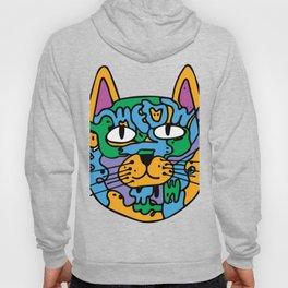 Mischief the Trippy Cat Hoody