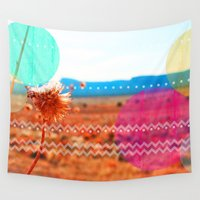 wind Wall Tapestries featuring Wind by Kakel-photography