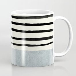 Silver x Stripes Coffee Mug