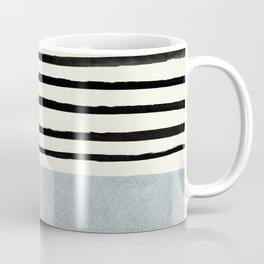 Silver x Stripes Coffee Mug