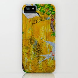 Lucky Terns iPhone Case