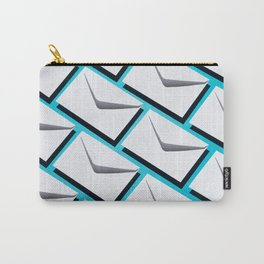 Envelopes pattern Carry-All Pouch