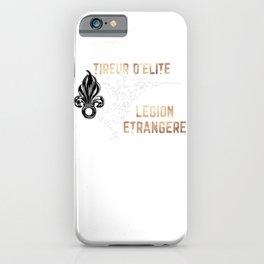 Légion Etrangère - Sniper - Military Support iPhone Case