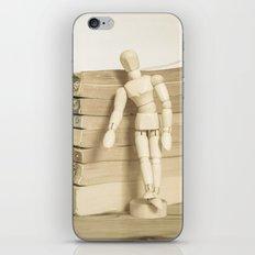 Little man books iPhone & iPod Skin