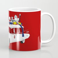 ghostbusters Mugs featuring Ghostbusters by Martin Lucas