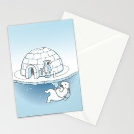 Sneak Attack Stationery Cards