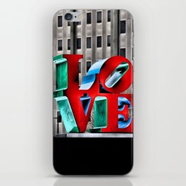 Love from Philly iPhone Skin