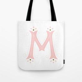 M Drop Cap Tote Bag