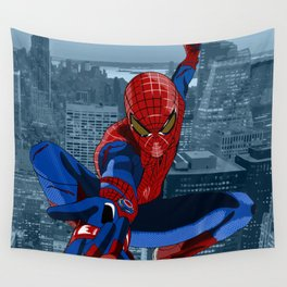Amazing Spider-Man (Comic Title) Wall Tapestry