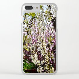 Blossom Wilderness Clear iPhone Case