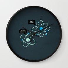 Negative Atom Wall Clock
